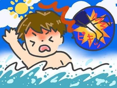 足がつる 運動 水泳
